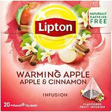 Τσάι LIPTON με άρωμα μήλο κανέλα (20x2,2g)