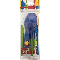 Κουτάλια πλαστικά PP μονόχρωμα (10τεμ.)