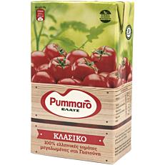 Χυμός τομάτας PUMMARO κλασικός ελαφρά συμπυκνωμένος (1kg)