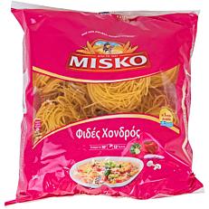 Πάστα ζυμαρικών MISKO φιδές χονδρός (500g)