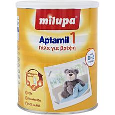 Γάλα σε σκόνη MILUPA Aptamil 1 1 για παιδιά από 0 έως 6 μηνών (800g)