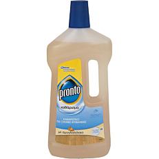 Καθαριστικό PRONTO για ξύλινες επιφάνειες αμύγδαλο, υγρό (750ml)