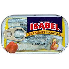 Κονσέρβα ISABEL σαρδέλες πικάντικες (125g)