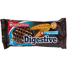 Μπισκότα ΠΑΠΑΔΟΠΟΥΛΟΥ digestive με μαύρη σοκολάτα (12x67g)
