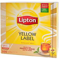 Τσάι LIPTON μαύρο (100x1,5g)