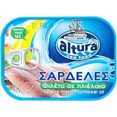 Κονσέρβα ALTURA σαρδέλες σε ηλιέλαιο (100g)