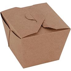 Κουτιά κραφτ φαγητού 8,5x8,5x9cm (40τεμ.)