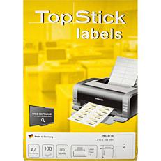 Ετικέτες TOP STICK 210x148mm, 100 φύλλα