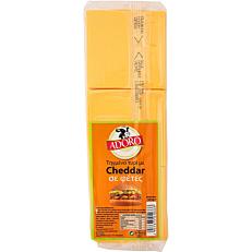 Τυρί ADORO cheddar σε φέτες (~1kg)