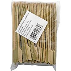 Καλαμάκια ξύλινα 150mm σχήμα κουπί (100τεμ.)