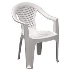 Καρέκλα πλαστική Έρικα λευκή
