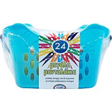 Καλάθι με μανταλάκια πλαστικά (24τεμ.)