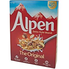 Δημητριακά ALPEN Muesli original (625g)