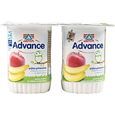 Γιαούρτι επιδόρπιο ADVANCE βρεφικό με φρούτα (2x150g)