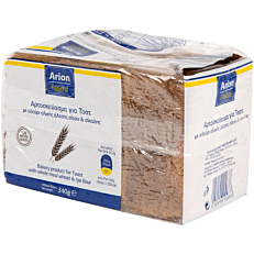 Ψωμί ARION FOOD τοστ σίκαλης mini (340g)