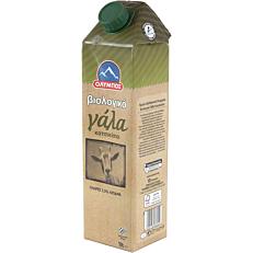 Γάλα ΟΛΥΜΠΟΣ κατσικίσιο 3,5% λιπαρά βιολογικό (1lt)