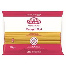 Πάστα ζυμαρικών MISKO σπαγγέτι No.6 (3kg)