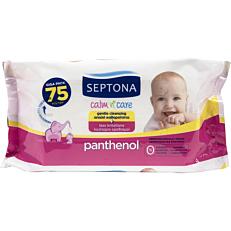 Μωρομάντηλα SEPTONA calm n' care Palthenol (75τεμ.)