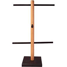Βάση για κουλούρια ξύλινη 18x38cm