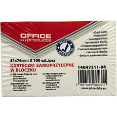 Αυτοκόλλητα χαρτάκια OFFICE PR σε μπλοκ 51x76cm