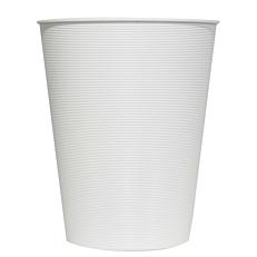 Γλάστρα innova ψηλή λευκή 39x48cm