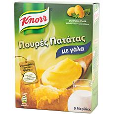 Πουρές KNORR με γάλα (291g)