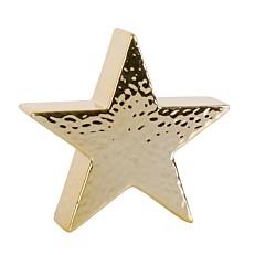 Διακοσμητικό χρυσό αστέρι 15x11x4,4cm