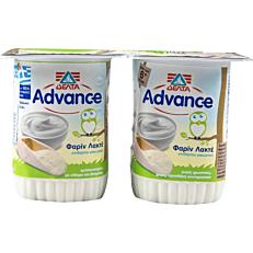 Γιαούρτι επιδόρπιο ADVANCE φαρίν λακτέ βρεφικό (2x150g)