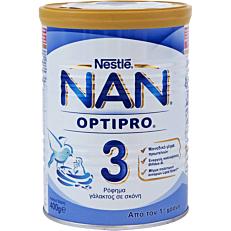 Γάλα σε σκόνη NESTLE NAN optipro 3 για μωρά 12+ μηνών