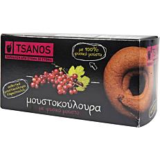 Κουλούρια TSANOS μούστου τσανάκια (100g)