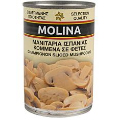Κονσέρβα MOLINA μανιτάρια κομμένα (400g)
