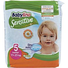 Πάνες BABYLINO Sensitive No.5, 11-25kg (18τεμ.)