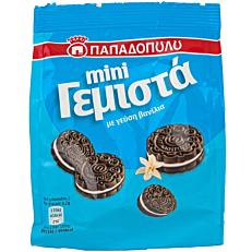 Μπισκότα ΠΑΠΑΔΟΠΟΥΛΟΥ mini γεμιστά με βανίλια (90g)
