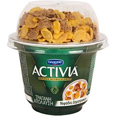 Γιαούρτι DANONE ACTIVIA τραγανή απόλαυση (200g)