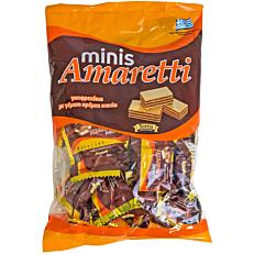 Γκοφρέτα AMARETTI minis (165g)