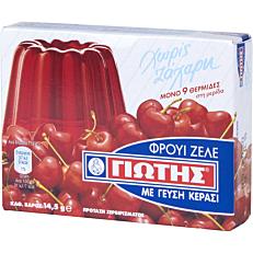 Φρουί ζελέ ΓΙΩΤΗΣ με γεύση κεράσι χωρίς ζάχαρη (14,3g)