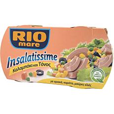 Κονσέρβα RIO MARE τόνος Insalatissime καλαμπόκι (2x160g)