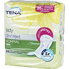 Σερβιέτες TENA Lady Normal για την ακράτεια (24τεμ.)