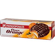 Μπισκότα ΠΑΠΑΔΟΠΟΥΛΟΥ γεμιστά με πορτοκάλι και επικάλυψη σοκολάτας (150g)