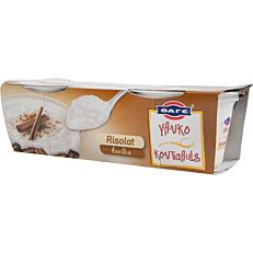 Γλύκισμα ΦΑΓΕ risolat βανίλια (2x170g)