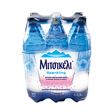 Νερό ΜΙΤΣΙΚΕΛΙ φυσικό μεταλλικό ανθρακούχο (6x1,5lt)