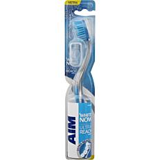 Οδοντόβουρτσα AIM white now medium