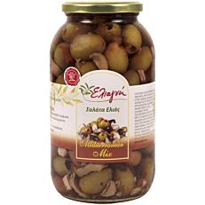 Σαλάτα ελιάς ΕΛΙΑΓΝΗ mediterranean mix (1,435kg)