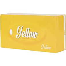 Χαρτομάντηλα YELLOW γραφείου κουτί 90 φύλλα
