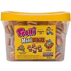 Καραμέλες TROLLI Mini BURGER ζελεδάκια (50τεμ.)