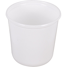 Μπολ PP λευκά 1000ml (50τεμ.)
