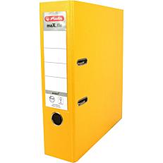 Κλασέρ HERLITZ max file Α4 8cm κίτρινο