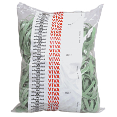 Λαστιχάκια VIVA πλακέ F5x08 125mm 1kg