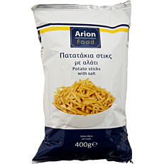 Πατατάκια ARION FOOD στικς αλάτι (400g)