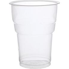 Ποτήρια RIVA CLASSICS πλαστικά PP διαφανή 250ml (6x50τεμ.)